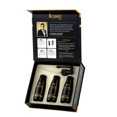 Revivogen Scalp Therapy 3 miesięczna kuracja na porost włosów i brody 3x60ml