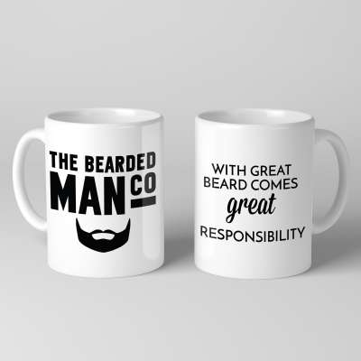 Bearded Man Co Beard Mug 02 - Unikatowy kubek brodacza