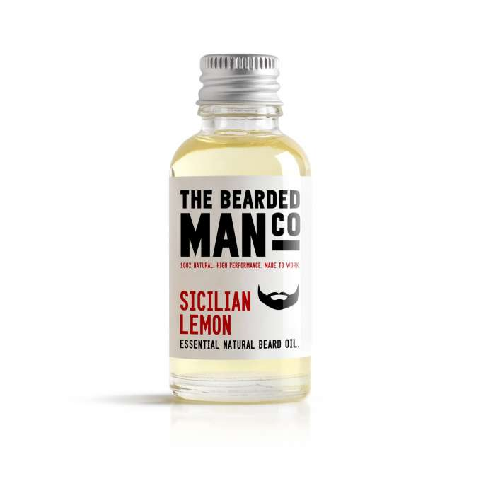 Bearded Man Co - Olejek do brody Sycylijska Cytryna - Sicilian Lemon 10ml (1)