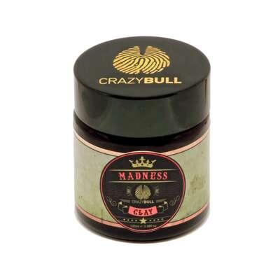 Crazy Bull Madness - glinka do włosów bardzo mocny chwyt / matowe wykończenie 100 ml