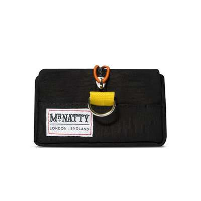 Mr Natty Wash bag - męska czarna  kosmetyczka