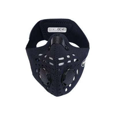 RESPRO CE Cinqro Black - sportowa maska antysmogowa PM2.5 PM10 rozmiar XL (1)
