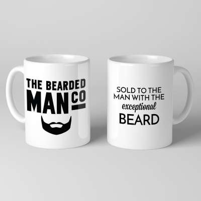 Bearded Man Co Beard Mug 01 - Unikatowy kubek brodacza