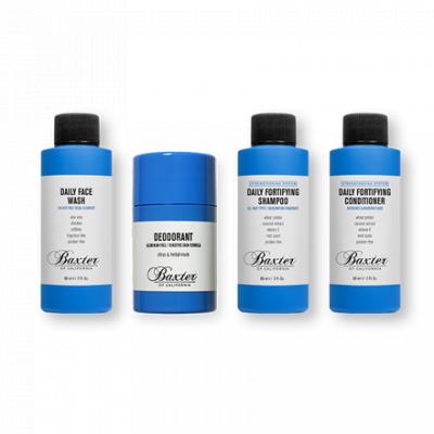 Baxter of California Jet Set Bundle - kosmetyczka z zestawem kosmetyków