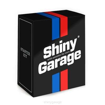 SHINY GARAGE STARTER KIT ZESTAW 10 PRODUKTÓW DO PIELĘGNACJI AUTA