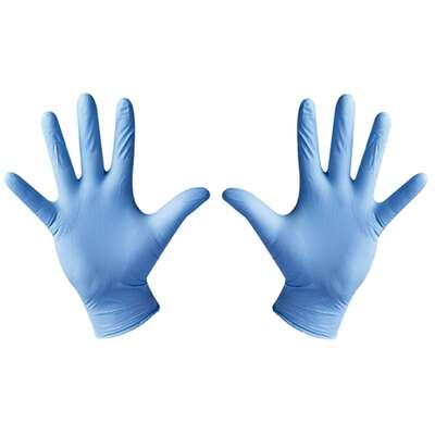 Black Mamba Orange M - pomarańczowe ochronne rękawiczki nitrylowe 100 szt. Rozmiar M (1)