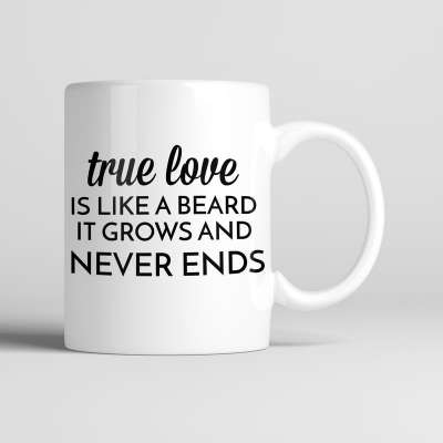 Bearded Man Co Beard Mug 04 - Unikatowy kubek brodacza