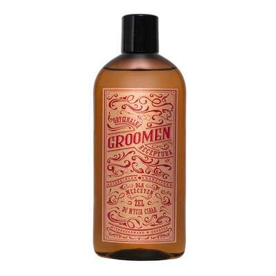 Groomen Żel pod prysznic do mycia ciała Fire 300 ml