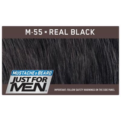 Just For Men M-55 Czarny - odsiwiający żel do brody i wąsów