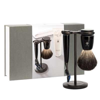 Muhle Zestaw prezentowy do golenia na mokro RYTMO BLACK