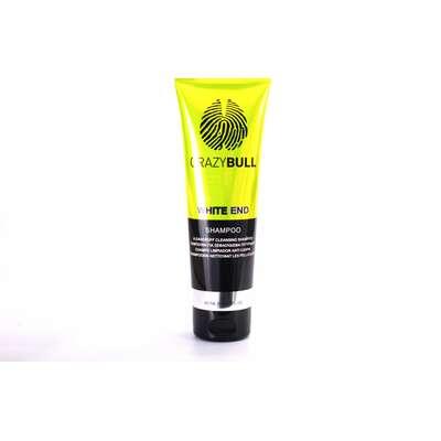 Crazy Bull White End - skuteczny szampon przeciwłupieżowy 250ml