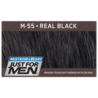 Just For Men M-45 Ciemny Średni Brąz - odsiwiający żel do brody i wąsów (1)