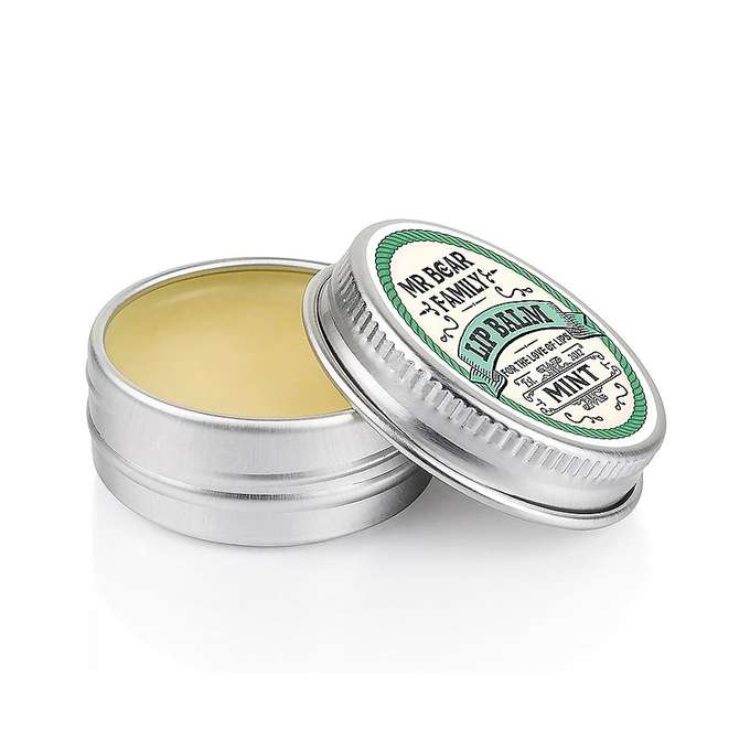 Mr Bear Family Lip Balm Mint - balsam do ust miętowy 15 ml