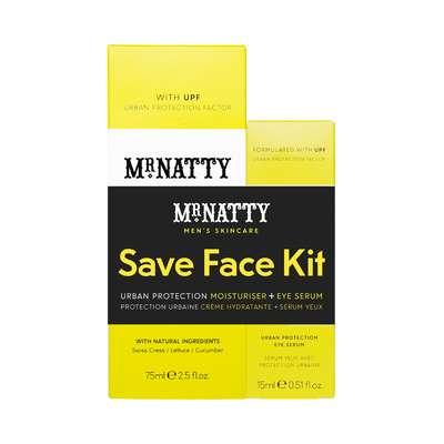 Mr Natty Save Face Kit Duo - zestaw ochronny do twarzy