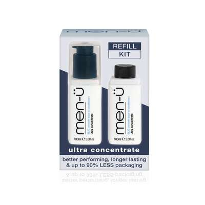 men-u refill kit - męska odżywka do włosów bez spłukiwania SLIC 2x100 ml