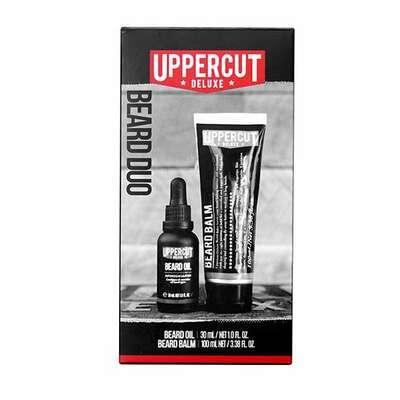 Uppercut deluxe - zestaw do pielęgnacji brody - beard care duo