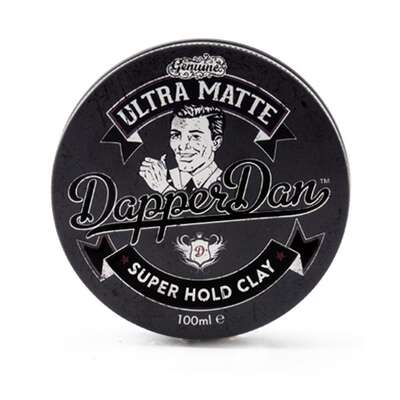 Dapper Dan Ultra Matte Clay B mocny chwyt B mocny mat 100ml