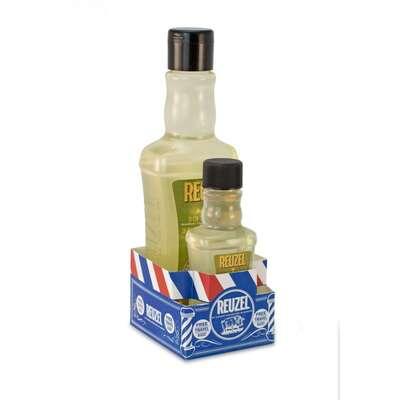 [Zestaw] Reuzel 3w1 Tea Tree - męski szampon, żel pod prysznic i odżywka w jednym 100 ml + Reuzel 3w1 Tea Tree - męski szampon, żel pod prysznic i odżywka w jednym 350 ml