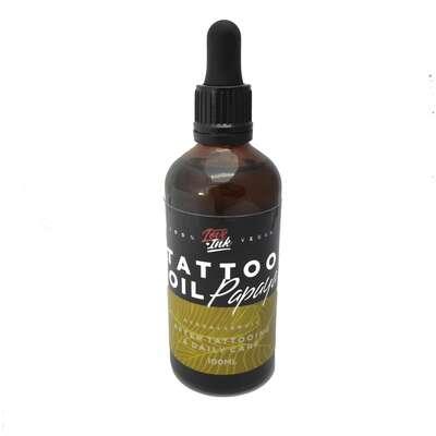 Loveink Tattoo Oil Papaya - olejek do pielęgnacji tatuażu 100 ml (1)