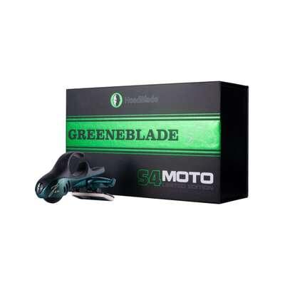 HeadBlade S4 Moto Greeneblade - Męska maszynka do golenia głowy na łyso