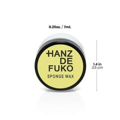 Hanz de Fuko Sponge Wax Wodna pomada do włosów średni chwyt/matowe wykończenie 7ml
