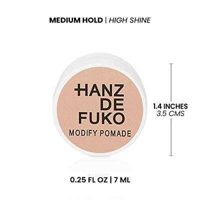 Hanz de Fuko Modify Pomade Wodna pomada do włosów średni chwyt/wysoki połysk 7ml