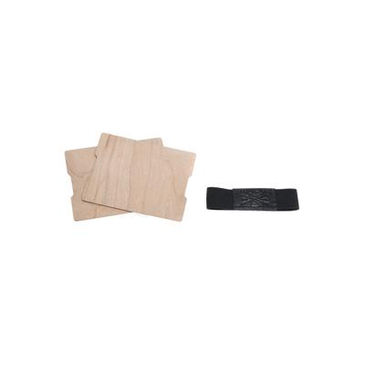 Pan Drwal - ręcznie robiony drewniany portfel