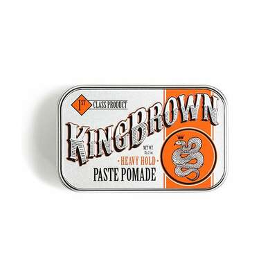 King Brown - heavy hold paste pomade - pomada do włosów 71g