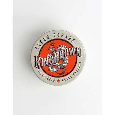 King Brown - cream pomade - pasta do włosów 75g