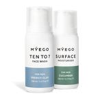 Myego Morning Duo - zestaw kosmetyków do twarzy - żel i krem matująco-nawilżający