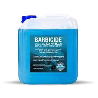 Barbicide bezzapachowy spray do dezynfekcji 5000 ml