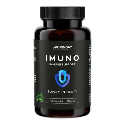 Grinday - Imuno - Wzmocnienie odporności - 60 kapsułek x 720mg