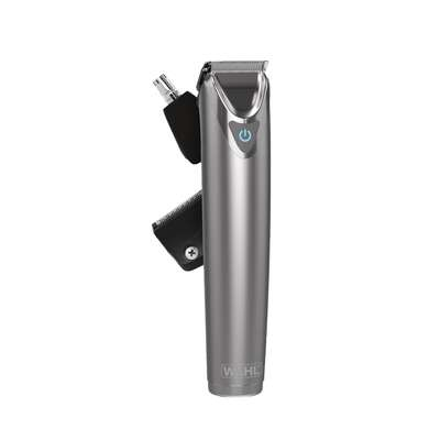Wahl 9818-166 Stainless Steel - trymer do włosów, zarostu, nosa, uszu i brwi
