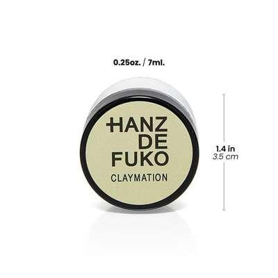 Hanz de Fuko Claymation Glinka do włosów bardzo mocny chwyt/matowe wykończenie 7ml