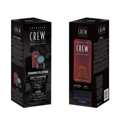 American Crew Zestaw DUO Fiber 85g + szampon daily 250ml