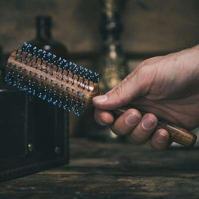 Bluebeards Revenge Quiff Roller XXL - Duża szczotka do włosów