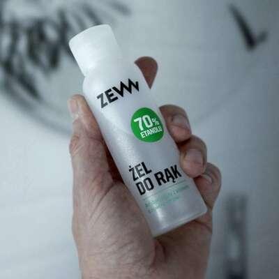 ZEW Antybakteryjny żel do rąk 70% z aloesem limonka 100 ml
