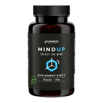 Grinday - Mind Up - Umysł Pamięć i Koncentracja - 60 kapsułek x 720mg