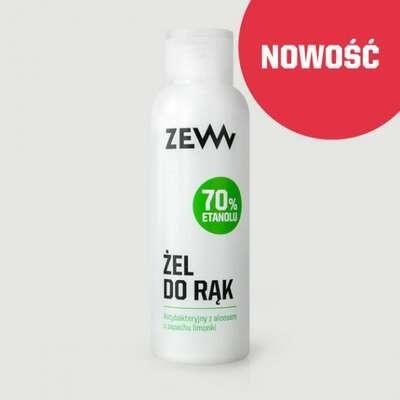 ZEW Antybakteryjny żel do rąk 70% z aloesem 100 ml