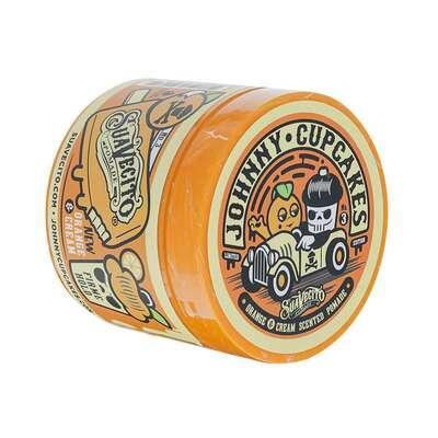 Suavecito Johnny Cupcakes  Orange and Cream Firme Hold Pomade pomada wodna do układania włosów 113g
