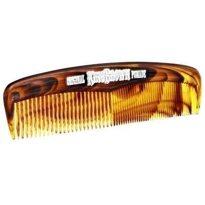 King Brown - kieszonkowy brązowy grzebień do włosów