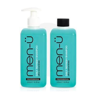 men-u - męski codzienny szampon nawilżający do włosów 500ml