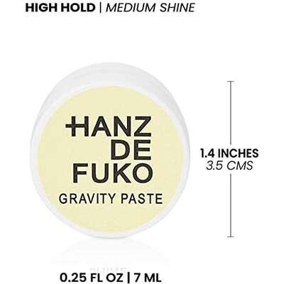Hanz de Fuko Gravity Paste Pasta do włosów mocny chwyt/średni połysk 7ml