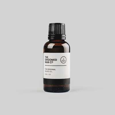 Groomed Man Co. Original - naturalny olejek do brody 30ml
