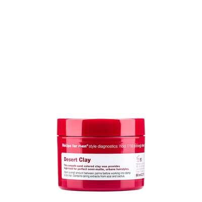 RECIPE FOR MEN Desert clay wax - półmatowa olejowa glinka 80ml