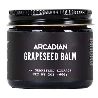 Arcadian - Grapeseed Balm - wegański balsam do brody i twarzy 60g