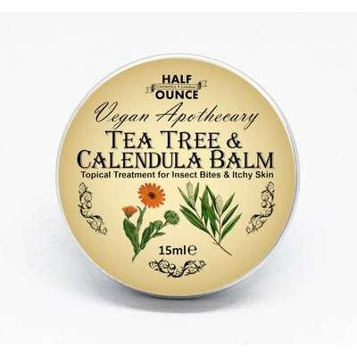 Half Ounce Cosmetics London - łagodzący podrażnienia balsam do ciała 15ml