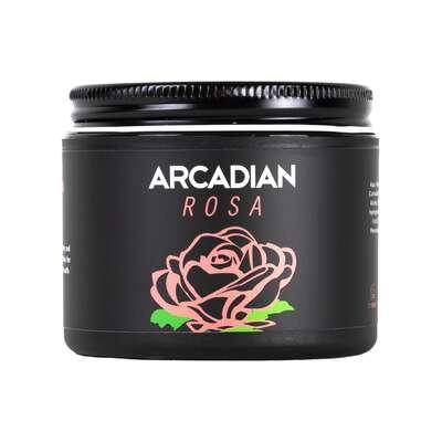 Arcadian - Grooming Rosa - kremowa glinka do stylizacji włosów o bardzo mocnym chwycie i matowym wykończeniu 115g
