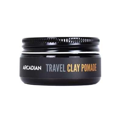 Arcadian - Clay Pomade - Kremowa pomada o matowym wykończeniu połysku i mocnym chwycie 115g (1)
