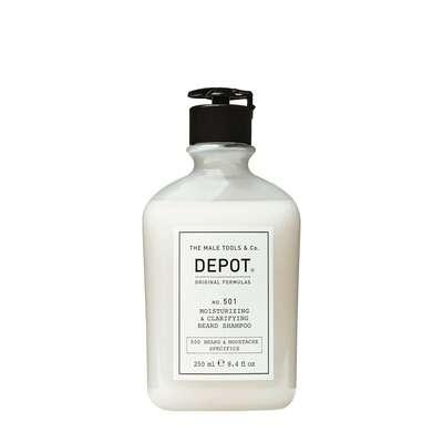 Depot 501 Nawilżająco oczyszczający szampon do brody 250ml